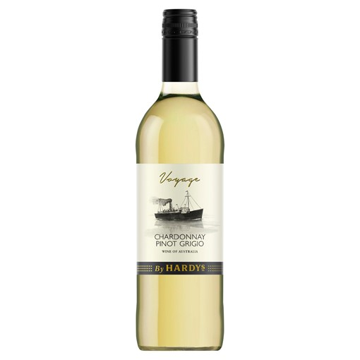 Picture of Voyage By Hardys Chardonnay Pinot Grigio 75cl