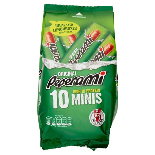 Picture of Peperami Original Mini Salami 10 X 10g