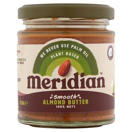 Picture of Meridian Smooth Almond Butter 170g Jar
