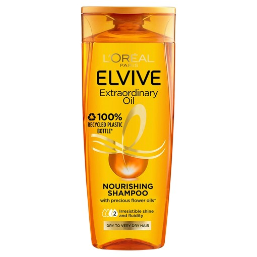 Picture of L'Oreal Paris Shampoo by Elvive Extraordinary Oil for Nourishing Dry Hair 300ml