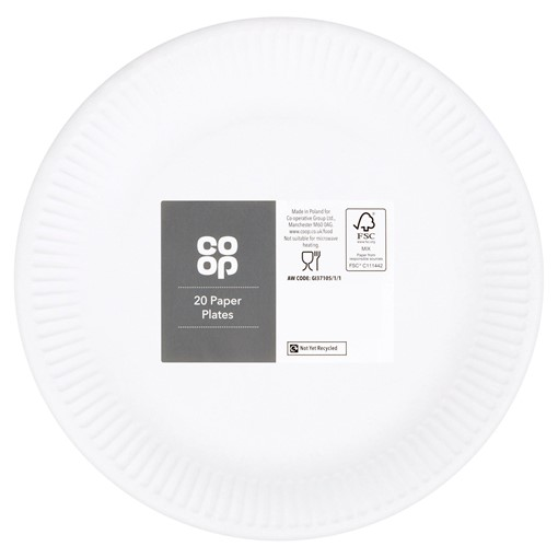 Picture of Co Op 20 Paper Plates