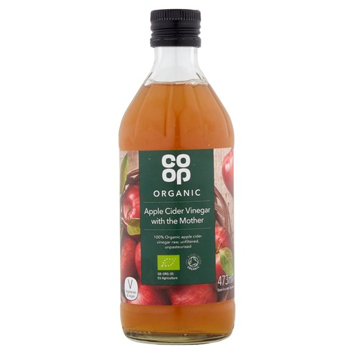 Picture of Co Op Organic Apple Cider Vinegar with the Mother 473ml