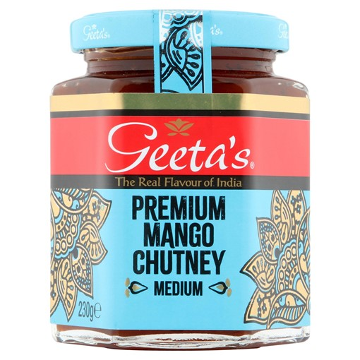 Picture of Geeta's Premium Mango Chutney Medium 230g