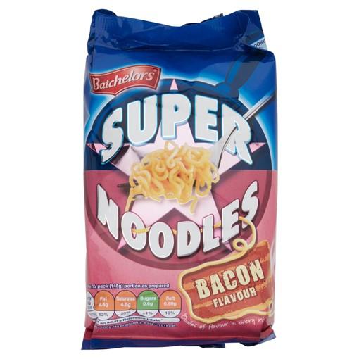 Picture of Batchelors Super Noodles Bacon Flavour 100g