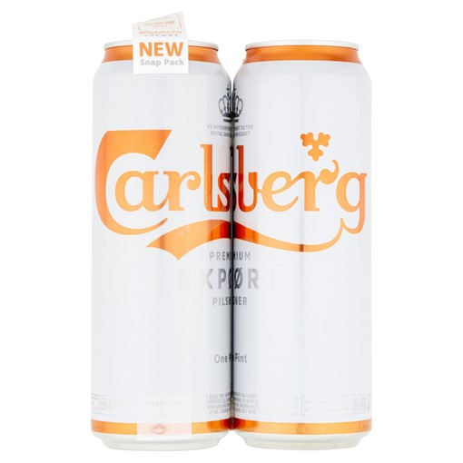 Picture of Carlsberg Export Lager Beer 4 x 568ml