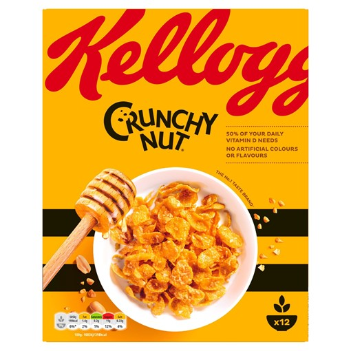 Picture of Kellogg's Crunchy Nut 375g