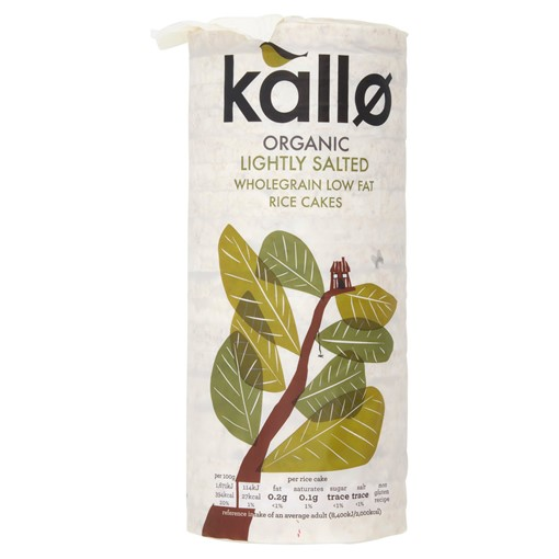 Picture of Kallo Organic Lightly Salted Wholegrain Rice Cakes 130g