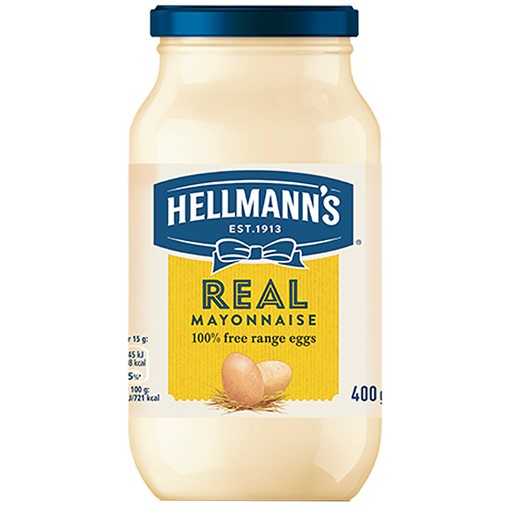 Picture of Hellmann's Real Mayonnaise 400 g