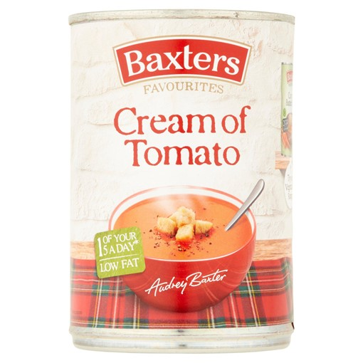 Picture of Baxters Favourites Cream of Tomato 400g