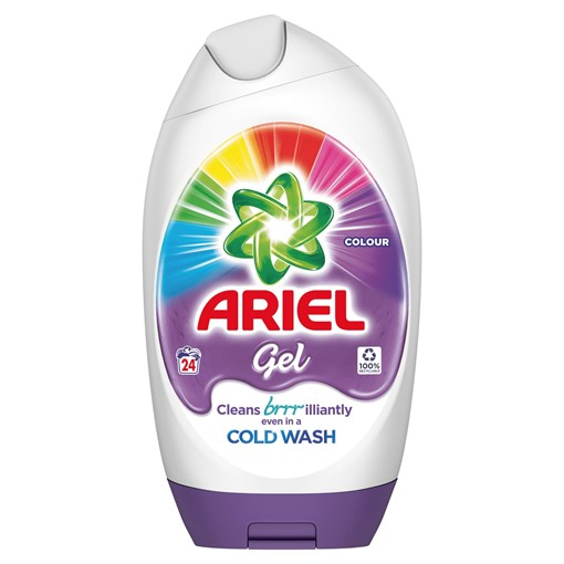 Picture of Ariel Washing Gel Colour & Style 888ml 24 Washes