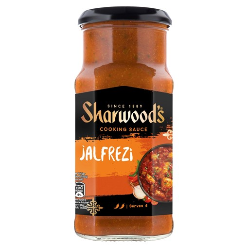 Picture of Sharwood's Jalfrezi Hot Curry Sauce 420g