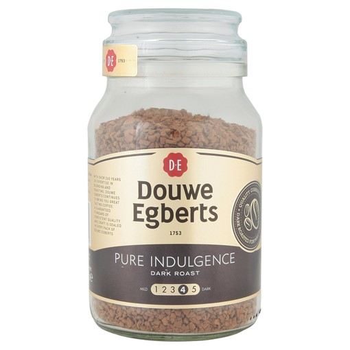 Picture of Douwe Egberts Pure Indulgence Dark Roast Instant Coffee 190g