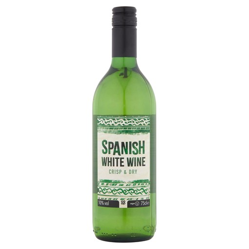 Picture of Co Op Spanish Dry White Wine 75cl
