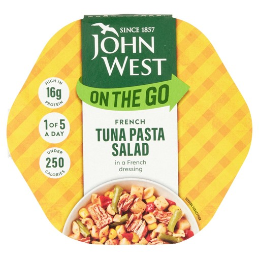 Picture of John West On the Go French Tuna Pasta Salad 220g