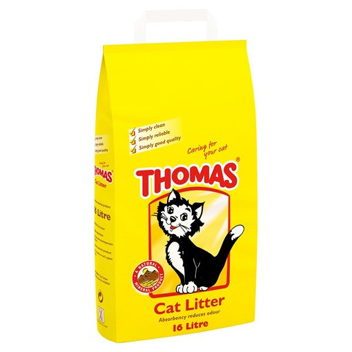 Picture of Thomas Cat Litter 16L