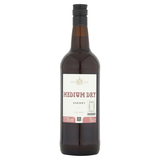 Picture of Co-op Medium Dry Sherry 1L
