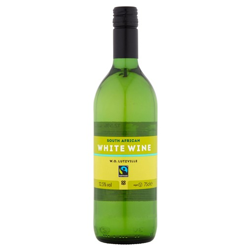 Picture of Co-op Fairtrade South African White Wine 75cl