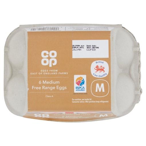 Picture of Co-op British Medium Free Range Egg