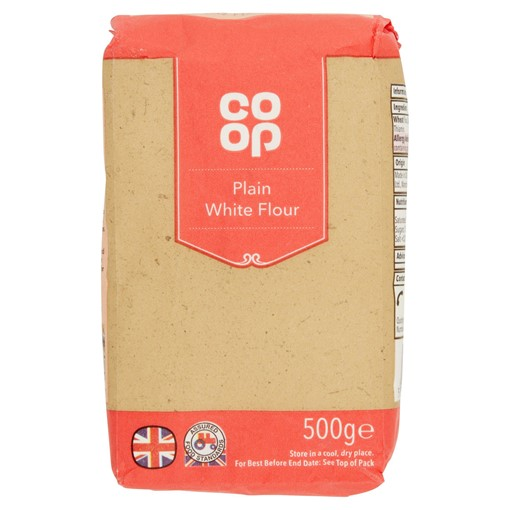 Picture of Co-op Plain White Flour 500g