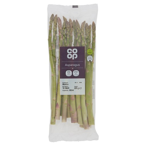 Picture of The Co-operative Loved by Us Asparagus 250g