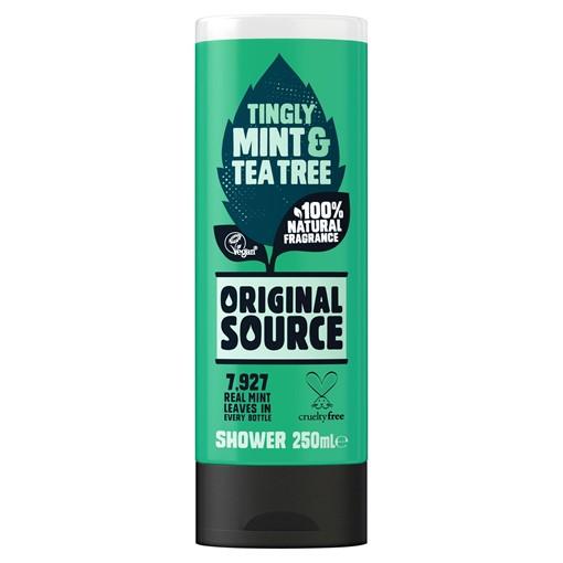 Picture of Original Source Mint & Tea Tree Shower Gel 250ml