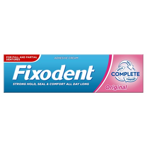 Picture of Fixodent Complete Denture Adhesive 47g, Original