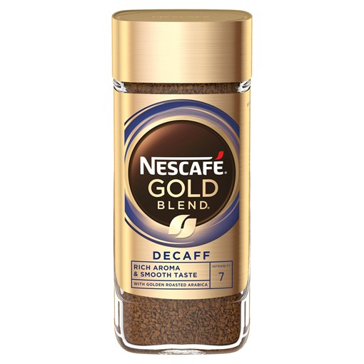 Picture of Nescafe Gold Blend Decaff Instant Coffee 100g
