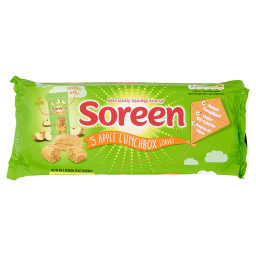 Picture of Soreen 5 Apple Lunchbox Loaves 150g