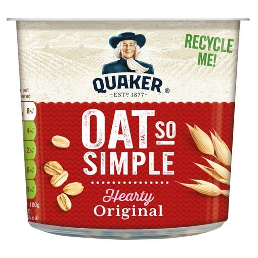 Picture of Quaker Oat So Simple Original Porridge Pot 45g