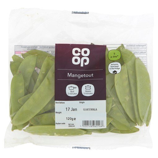 Picture of Co-op Mangetout 120g