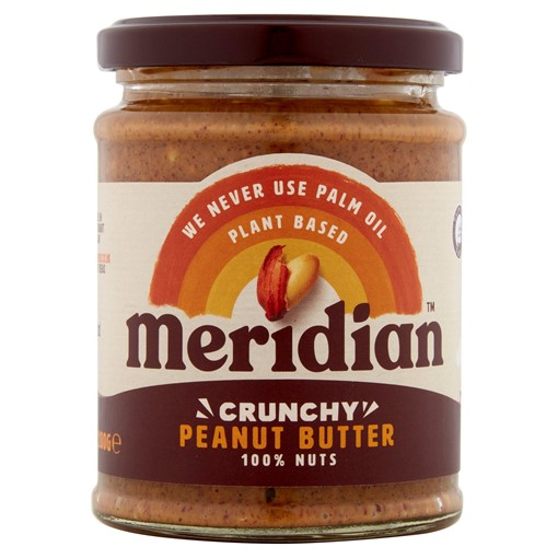 Picture of Meridian Crunchy Peanut Butter 280g Jar