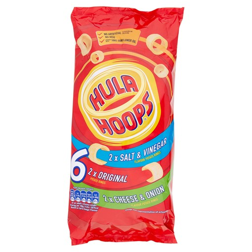 Picture of Hula Hoops Family Pack 6 x 24g