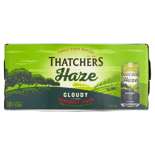 Picture of Thatchers Haze Cider 10 x 440ml