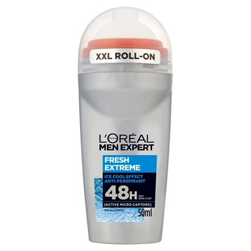 Picture of L'Oreal Men Expert Fresh Extreme 48H Roll On Anti-Perspirant Deodorant 50ml