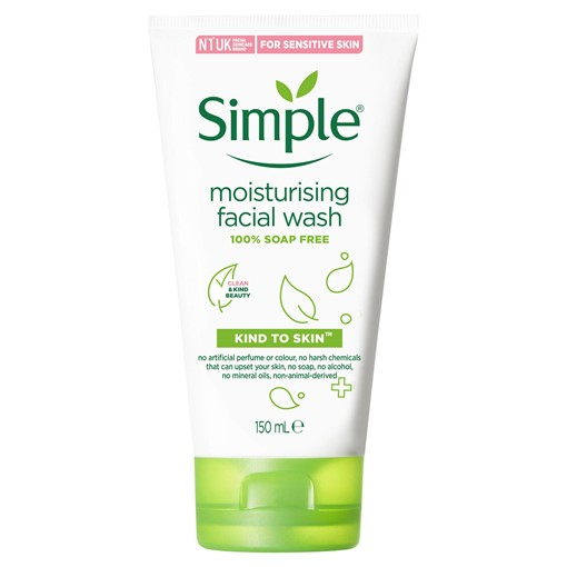 Picture of Simple Moisturising Facial Wash Gel 150 ml