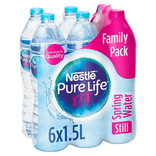 Picture of Nestle Pure Life Still Spring Water 6x1.5L