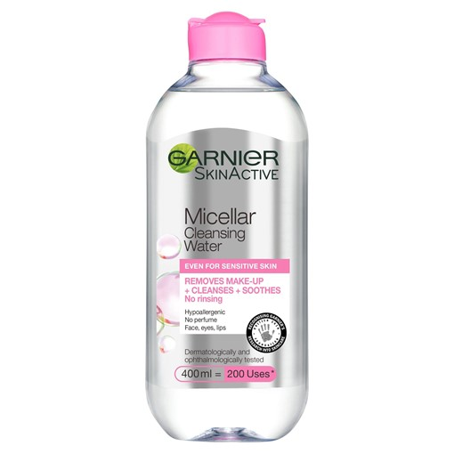 Picture of Garnier Micellar Water Facial Cleanser Sensitive Skin 400ml