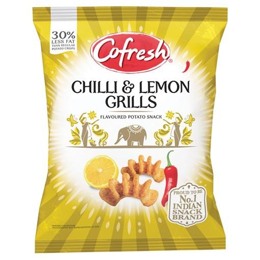 Picture of Cofresh Chilli & Lemon Grills Flavoured Potato Snack 80g