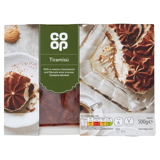 Picture of Co-op Tiramisù 500g