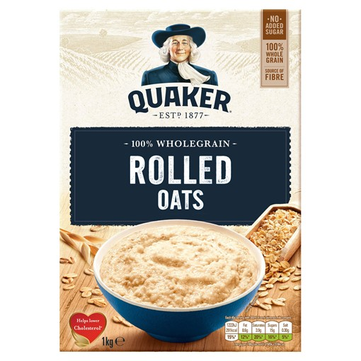 Picture of Quaker Oats 1KG