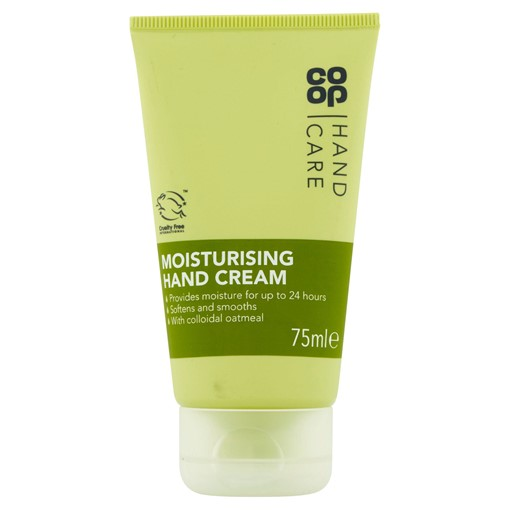 Picture of Co-op Moisturising Hand Cream 75ml