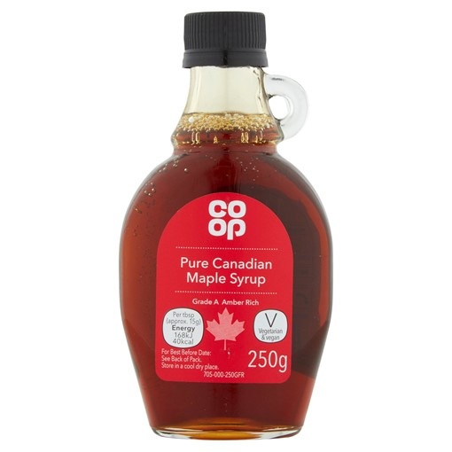 Picture of Co-op Pure Canadian Maple Syrup 250g