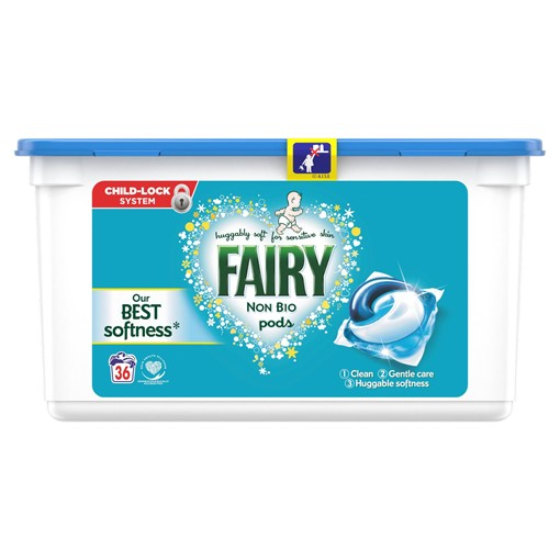 Picture of Fairy Non Bio Pods Washing Liquid Capsules 36 Washes