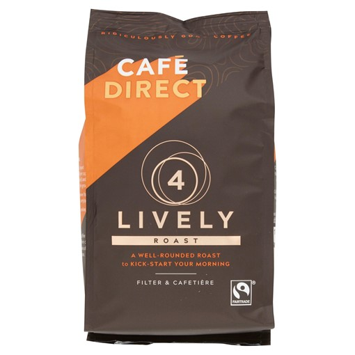 Picture of Cafédirect Fairtrade Lively Roast Coffee 227g