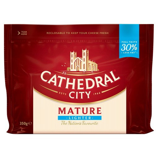 Picture of Cathedral City Mature Lighter Cheese 350g