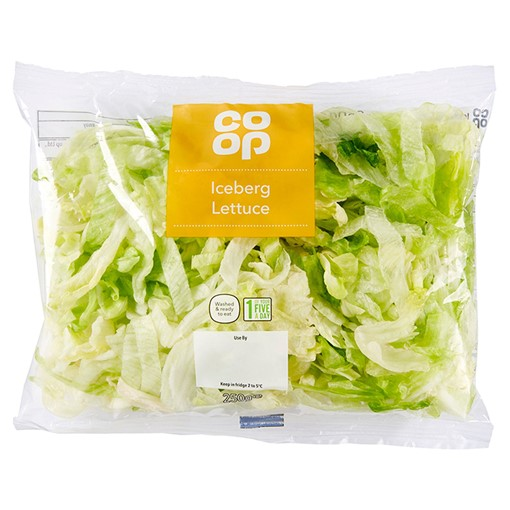 Picture of Co Op Iceberg Lettuce 250g