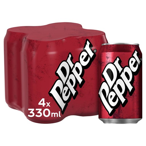 Picture of Dr Pepper 4 x 330ml