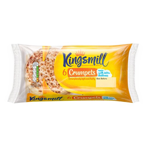 Picture of Kingsmill 6 Crumpets