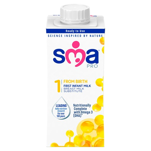 Picture of SMA® PRO First Infant Milk from Birth Ready-to-Feed 200 ml