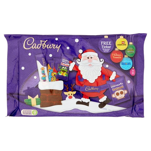 Picture of Cadbury Dairy Milk Small Chocolate Selection Pack 89g